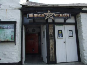 The Witches Museum - Boscastle Cornwall - The witches museum which is situated in Boscastle has recently been restored after terrible floods that swept through the whole of Boscastle back in 2004.