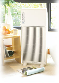 Air treatment system - To ensure better air quality in your room.