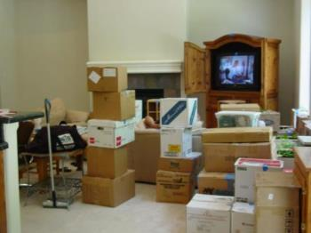 Moving day is here - Packing can be fun
