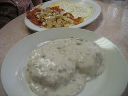 Biscuits and gravy - Biscuits and gravy