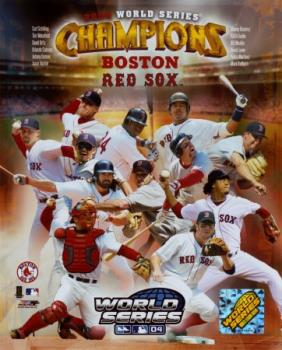 Boston Red Sox - poster for 2004 World Series