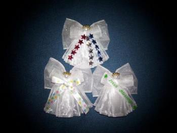 Angels - These Angels are made as magnets, pins, and ornaments.