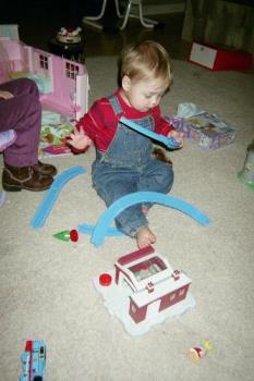 my nephew - my nephew playing