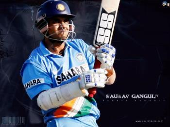 Saurav Gunguly - India's former captain which take his team through the cricket world cup 2003.Saurav Ganguly is the best captain for India till now as history suggests.
