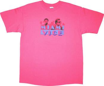 Pink Shirt - Miami Vice Pink T-Shirt