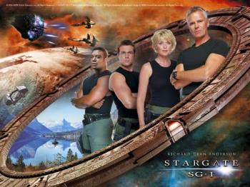 Stargate Wallpaper - A nice wallpaper of Stargate SG-1 with Richard Dean Anderson.
