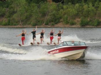 TC River Rats - A water skiing club that puts on free shows