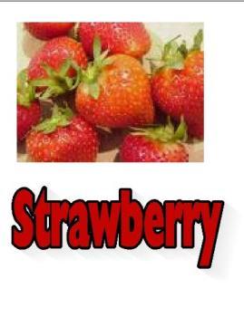 Fresh Strawberries - Bright red Strawberries