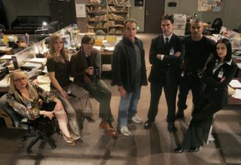 Criminal MInds - The best show possible on television these days. It has everything, romance, drama, suspense, and comedy! WHat more could we ask for?