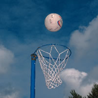 Netball - One of my favorite sports to play.