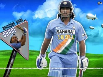 Mahendra Singh Dhoni - The lower order Indian batsman has a great chance of becoming the Indian team captain for 20-20 world cup match as Rahul Dravid will not play the 20-20 world cup.Their are many other senior competitors for this post.