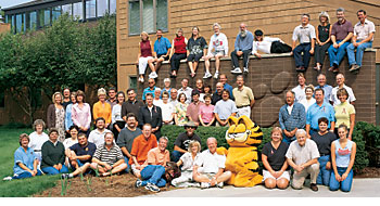 """Paws, Inc. - """"Paws employs 57 artists, writers, and licensing business executives."""" ( http://pressroom.garfield.com/paws/index.html )"""