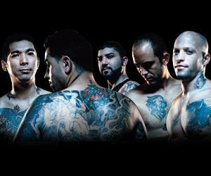 Miami Ink - The guys from Miami Ink: Yoji, Nunez, Darren, Garver, Ami.