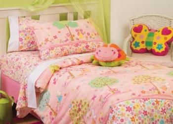 Enchanted Garden - Colourful bedsheets!