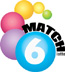 Match Six lottery - match six symbol