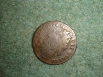 My metal detector find - This coin is from 1680s and i find that so exciting