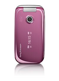sony ericsson rose pink z610i - my mobile, se z610i