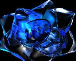 Blue Rose - Blue Crystal Rose