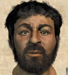 Jesus Picture - This is a best guess of how Jesus may have looked.
