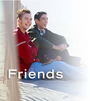 a picture of friendship - sharing a life with a good friend