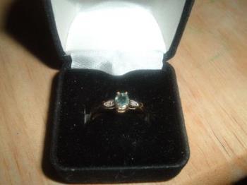 Alexandrite ring - alexandrite ring