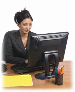 computer worker - computer worker should have proper sitting arrangements.