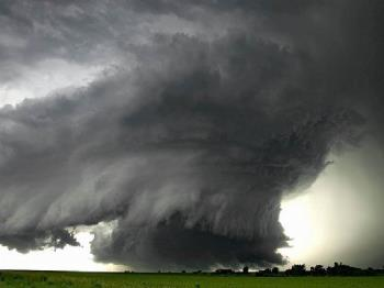Tornadoes - Picture of a scale 5 Tornado