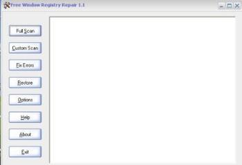 Registry Repair  - free windows Registry Repair