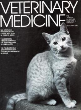 Cover Of Veterinary Medicine - The photo that earned me best cover award