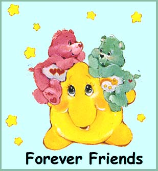 Forever Friends Care Bears - Care Bears with forever friends!