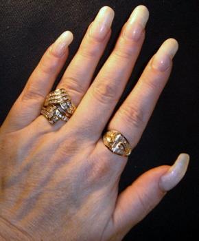 My fingernails - my long and lovely fingernails