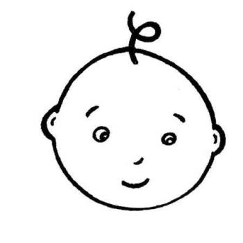 clip-art baby - a good doodle of a baby