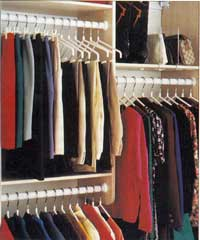 Organized Closet - I wish my closet was this organized!