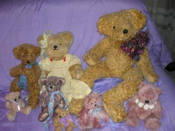 My Teddys - My handmade teddy collection