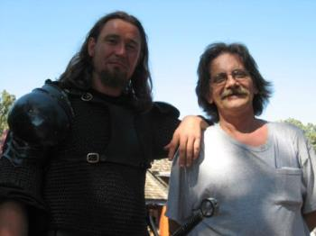 Knight & I - taken at the Minnesota Renaissance festival Sept 1st 2007