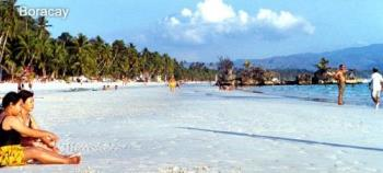 Boracay - Boracay with its famous white sand beach in Aklan, Philippines.