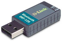 Bluetooth Dongle - A picture of a bluetooth dongle.