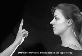 emdr - This is the alternate way to do EMDR. Watching something go back and forth. I used a buzzer in my hands that pulsed and my eyes naturally moved with the pulse. TRY IT!