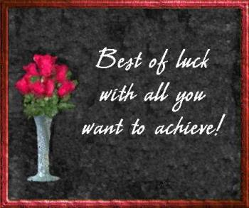 good luck - good luck card for you