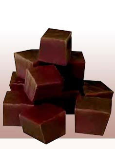 Fudge squares - A sweet treat that is good without nuts.