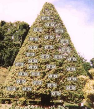 Money Tree - Work at it and you can make your earnings go higher and higher! =)