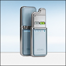 Zeno Acne Machine - This is a picture of the Zeno machine, which claims to get rid of pimples.