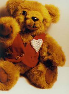 Bragi--My handmade teddy bear  - photo of a handmade teddy bear I made