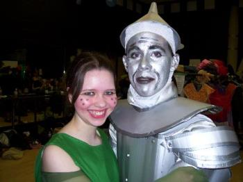 Tinman and friend - They really went all out with the costumes, and did such a professional job.