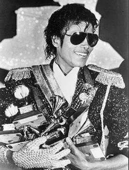 Michael Jackson in his heydays - He was once the King of Pop, and he still is the King of Pop, for no one has beaten Thriller yet!