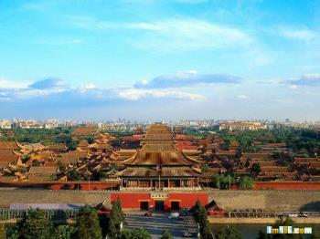 The imperial Palace - The imperial palace is the biggest palace all over the world.It is also know as the Purple Forbidden city.It is the largest and most well reserved imperial residence in China today.It took 14 years to build the Forbidden city.