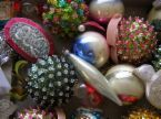 This is more my taste in ornaments - box of ornaments