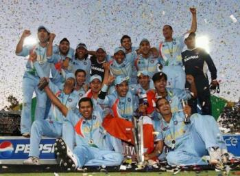 T20 World champions - We are the T20 World champions and this pic was taken after the finals