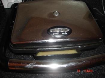 panini grill - The price I won
