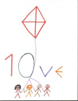 nice picture - the love kite